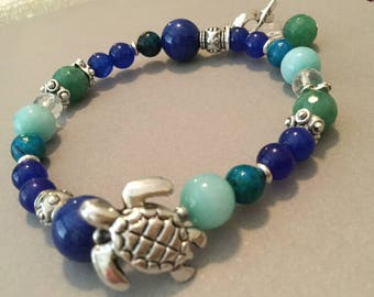 Turtle totem Long life Thyroid bracelets Healing bracelets Prosperity Wealth Success Zen Beaded bracelets Jewelry Bracelets Turtle Totem