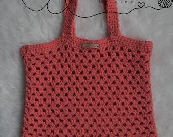 The Everything Tote - Gym Bag - Tote - Market Bag - Crochet Bag - Gym Tote - Market Tote - Shoulder Bag - Beach Bag - Grocery Bag -Purse