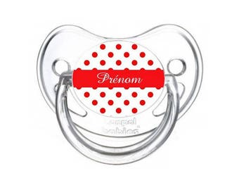 Nipple red dots to personalized with name