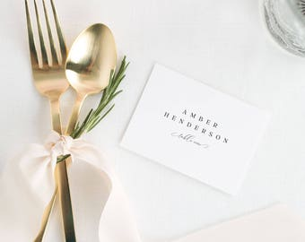 Bethany Place Cards - Deposit
