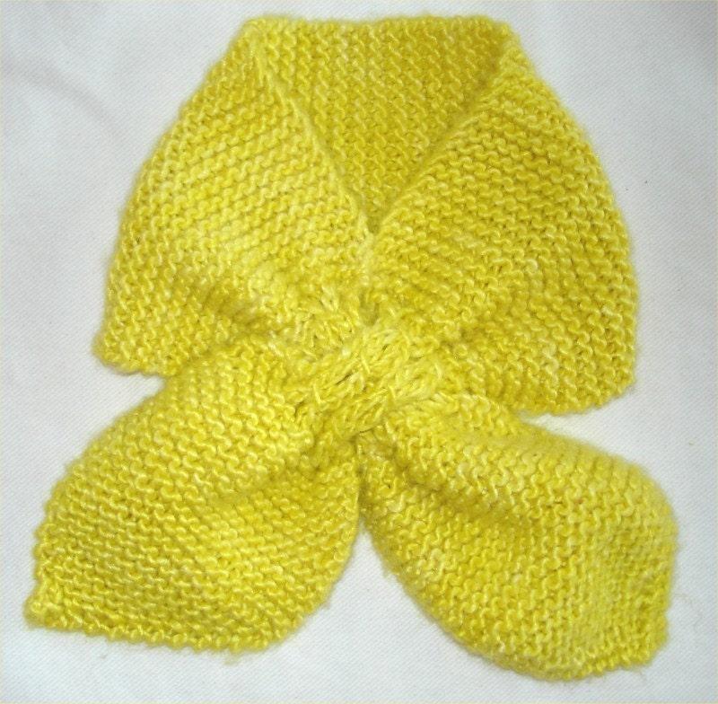 KNITTING PATTERN- Toddler Ascot. Scarf knitting pattern. PDF from ...