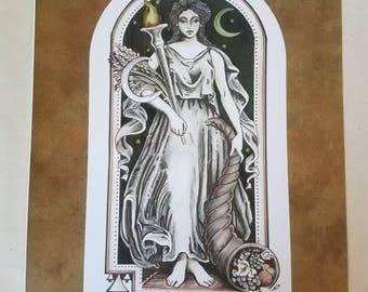 Demeter Queen of the Harvest