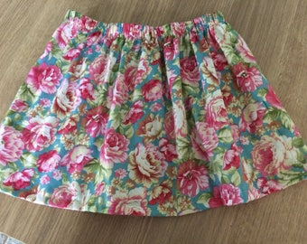 Handmade Cotton Skirt Age 4years