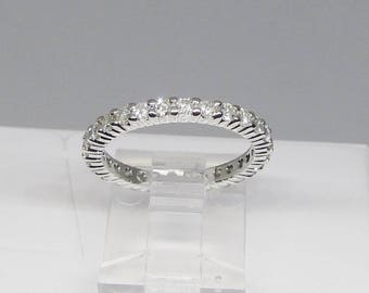 Diamond Eternity Band 14Kt Gold