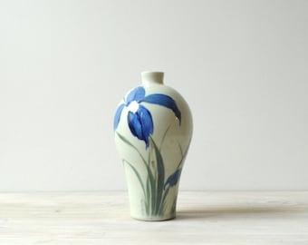 Vintage Vase, Flower Vase, Ceramic Vase, Pottery Vessel
