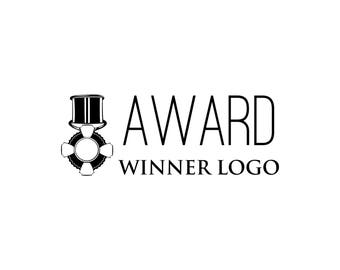 Award winner logo SVG | Madel icon | First place | Gold, silver, bronze | Сompetition logo | Reward, prize | Digital File | Vector