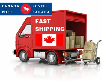 Expedited Shipping to Canada -  Add-on Upgrade Shipping  - Canada Post Tracking