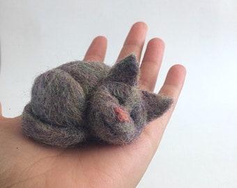 Custom wool cat