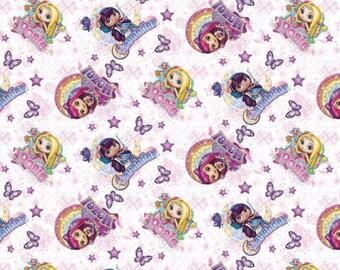 Nickelodeon Nelvana Little Charmers Friends Fabric