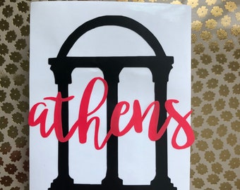 Athens Decal