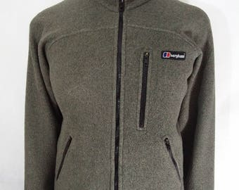 Classic Berghaus Vintage 1990's Polartec fleece jacket mens size Small