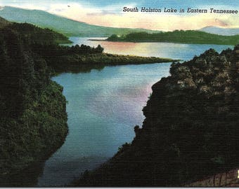 South Holston Lake, Tennessee - Vintage Postcard - Postcard - Unused (OO)