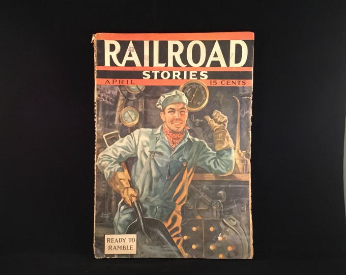 Railroad Stories Magazine (1937)