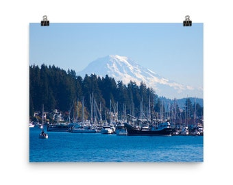 Mt. Rainier from Gig Harbor, Washington