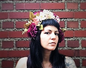 IVY   Spring Time Head Dress  Boho Special Occasion