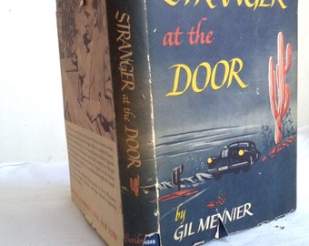 Gil Meynier's STRANGER at the Door Horror Mystery First Edition Book, 1st Printing, Stranger at the Door, Meynier Novel, Mystery, Horror