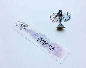 Hand Painted Magnus Bane Bookmark | Mortal Instruments