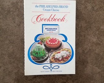 Vintage The Philadelphia Brand Cream Cheese Cookbook With Many new Pictures Kraft