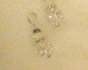 Snowman earrings
