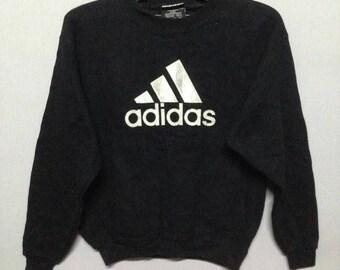 Vintage adidas big logo sweatshirt ladies L