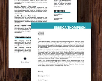 Thompson Resume and Cover Letter Template
