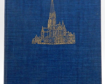 Immaculate Conception Parish Chicago 75th Anniversary Book HC 1958 (14673)