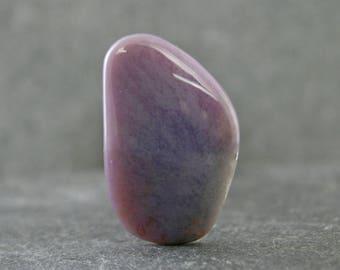 Burro Creek Agate Cabochon, Natural Purple Agate, Lavendar Agate Gemstone Cabochon, Loose Purple Stone Cabochon, Jewelry Focal Stone