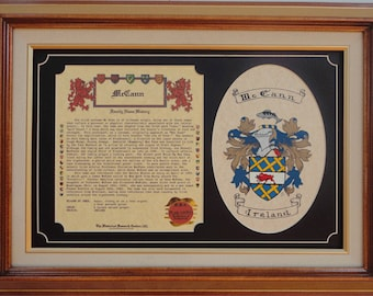 Family Crest Gift Set