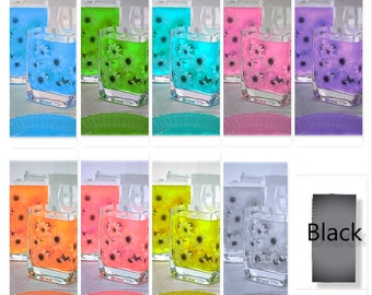 Color Translucent Water Gels 2 Packets Vase Fillers for the Floating Look