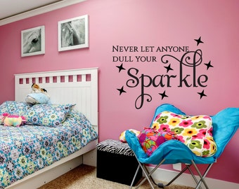 Unique Home Decor - Inspirational Quotes Wall Decal - Home Decor - Wall Decal -  Wall Decal for Girls - Vinyl Wall Decal