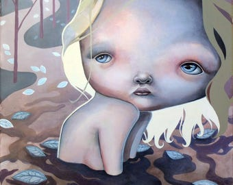 """Limited edition Giclee print """"I sold my secrets"""""""