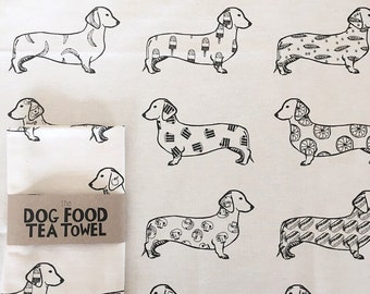 The Foodie Tea Towel