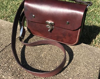 Leather Purse, Handbag, shoulder bag