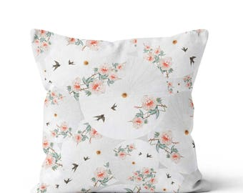 Pillow Cover Small Chinese Floral