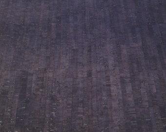 Cork Fabric smoke color by Eversewn
