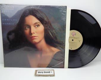 Emmylou Harris Profile Best Of LP BSK-3258 VG+ Vinyl Record Shrink