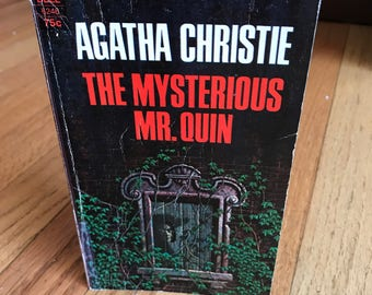 The Mysterious Mr. Quin by Agatha Christie, vintage paperback