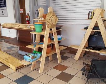 Portable Ladder Shelf Kit