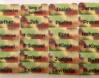 CATHOLIC Army Brown/Green/Tan Camouflage Books of Bible Tabs by Victoria Anderson