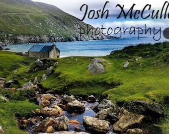 Achill Island, Simple Time, Irish Decor, Fine Art Photo Print, Wall Art