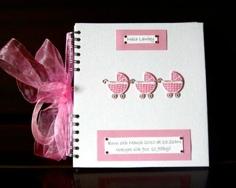 Personalised New Baby/Baby Shower Book