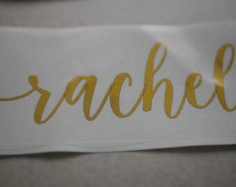 Custom Vinyl Stickers - Personalized Name Stickers - **FREE SHIPPING**