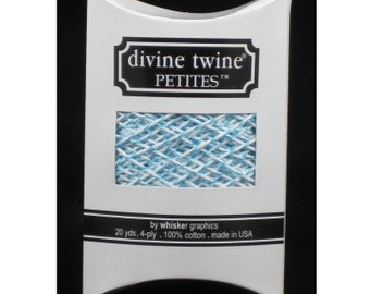 NEW- Divine Twine Petites (20 yards)- AQUA