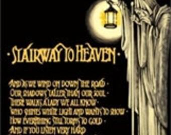 Led Zeppelin Hermit Poster