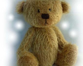 MOMO artist bear epattern by Jenny Lee of jennylovesbenny boutique bears PDF