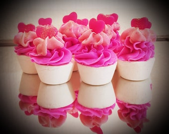 Fizzy Candy Mini Cupcake Soap *5 soaps*