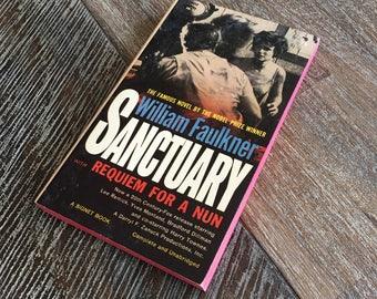 Sanctuary by William Faulkner (Signet, 1961) Movie Tie-in