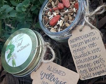 Aligned Wellness Organic Herbal Tea