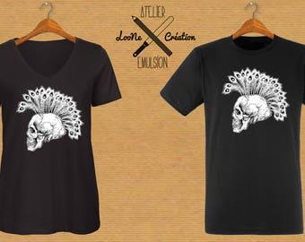 SKULL Loone Creation VS workshop Emulsion man or woman t-shirt