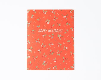 Holiday Berries Card